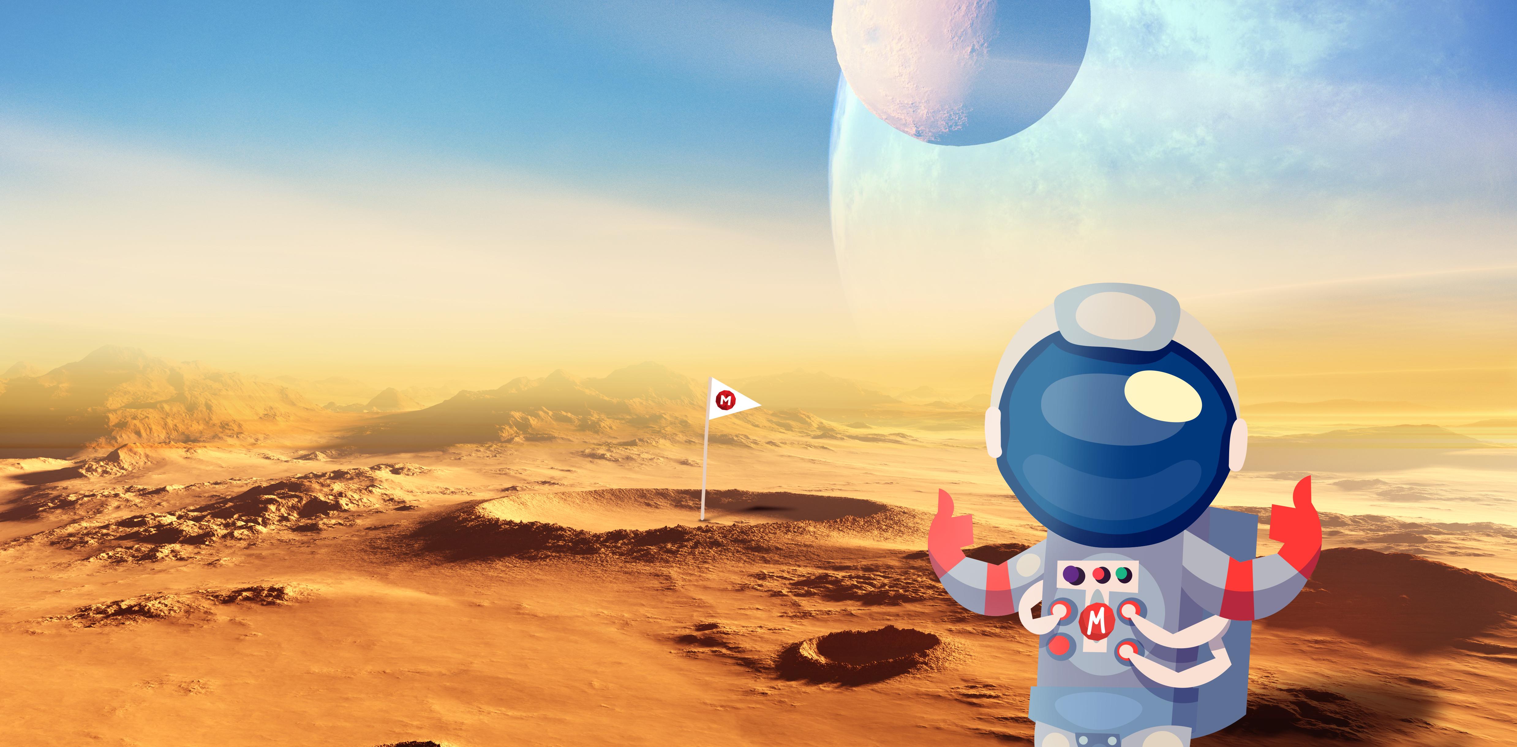 Being a Martian